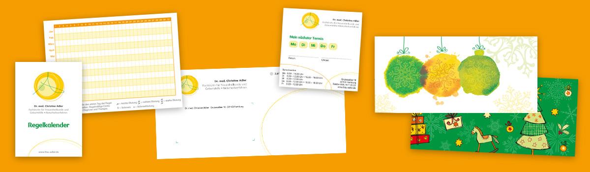 Grafik-Design: Arztpraxis grafische Ausstattung