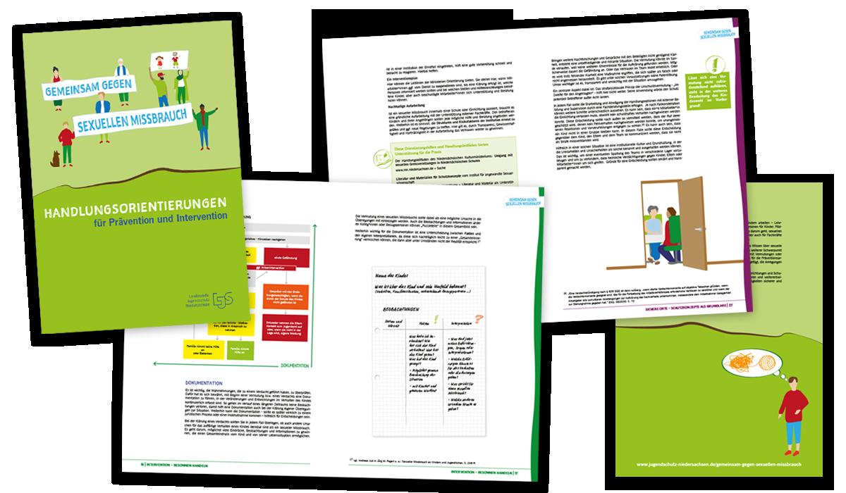 Grafik-Design: Broschüre für den Jugendschutz