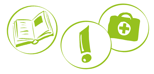 Illustrationen: Icons für Broschüre