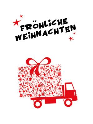 Büromöbel Weihnachtskarten für Kund*innen