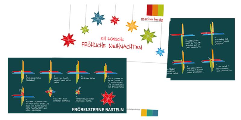Grafik-Design: Weihnachtskarte 2019