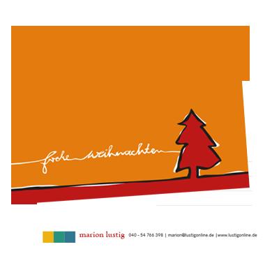 Grafik-Design: Weihnachtskarten 2011
