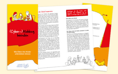 Elternbroschüre (Cyber-)Mobbing – Grafik-Design