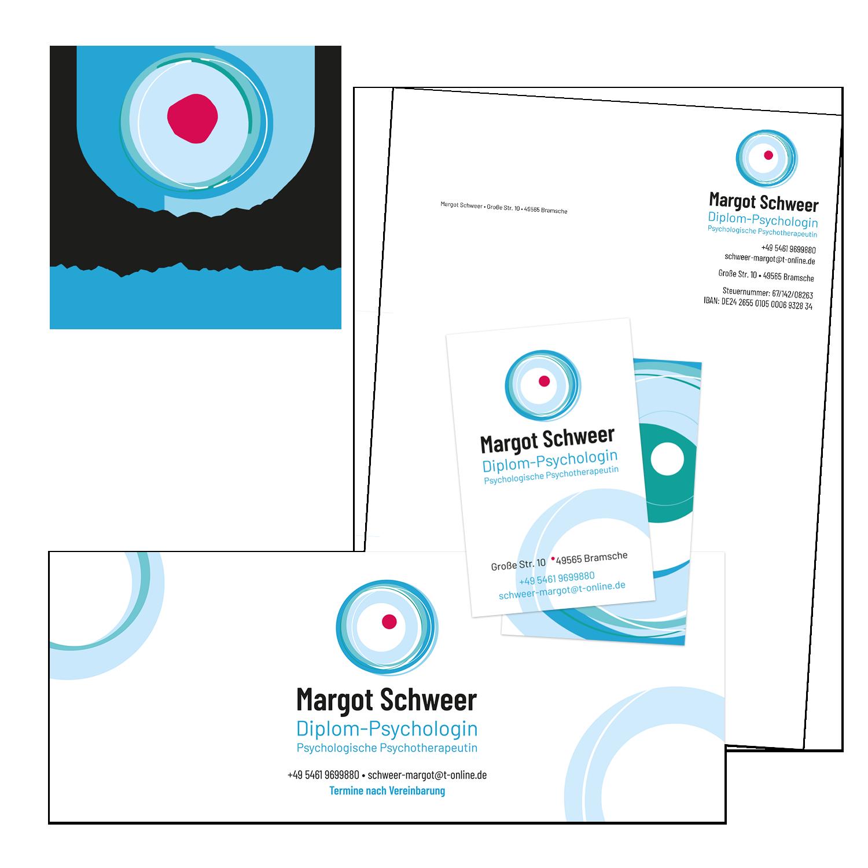 Grafik-Design: Logo und Geschäftsausstattung für eine Psychologin