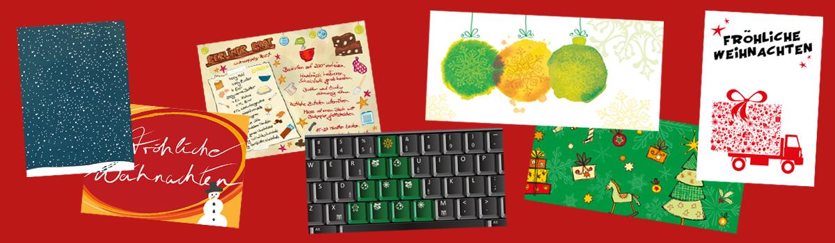 Grafik-Design: Unternehmensweihnachtskarten