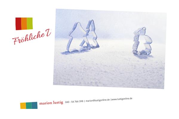 Design-Weihnachtskarte 2012