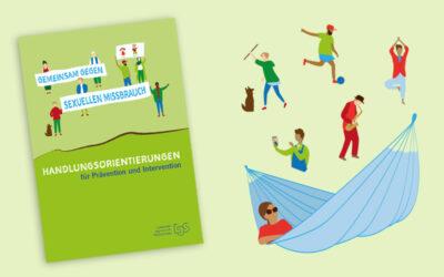 Broschüre für den Jugendschutz – Grafik-Design & Illustrationen