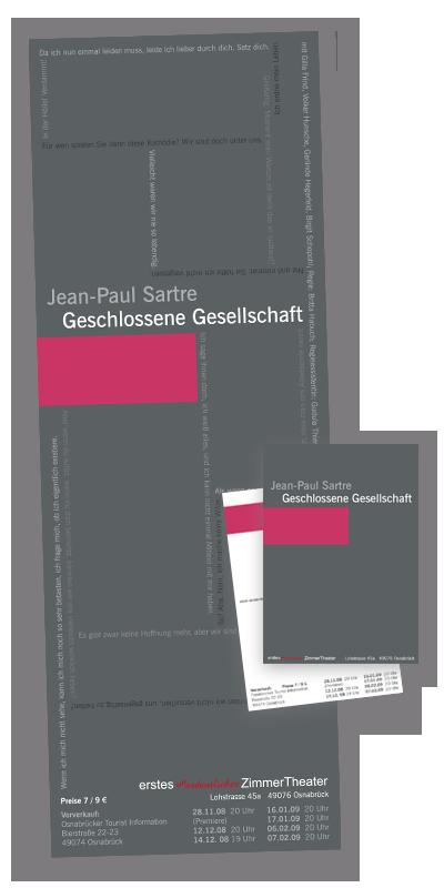 Kultur-Design: Theaterplakate & Postkarten