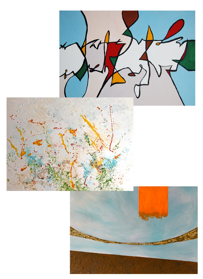 Marion Lustig: Malerei