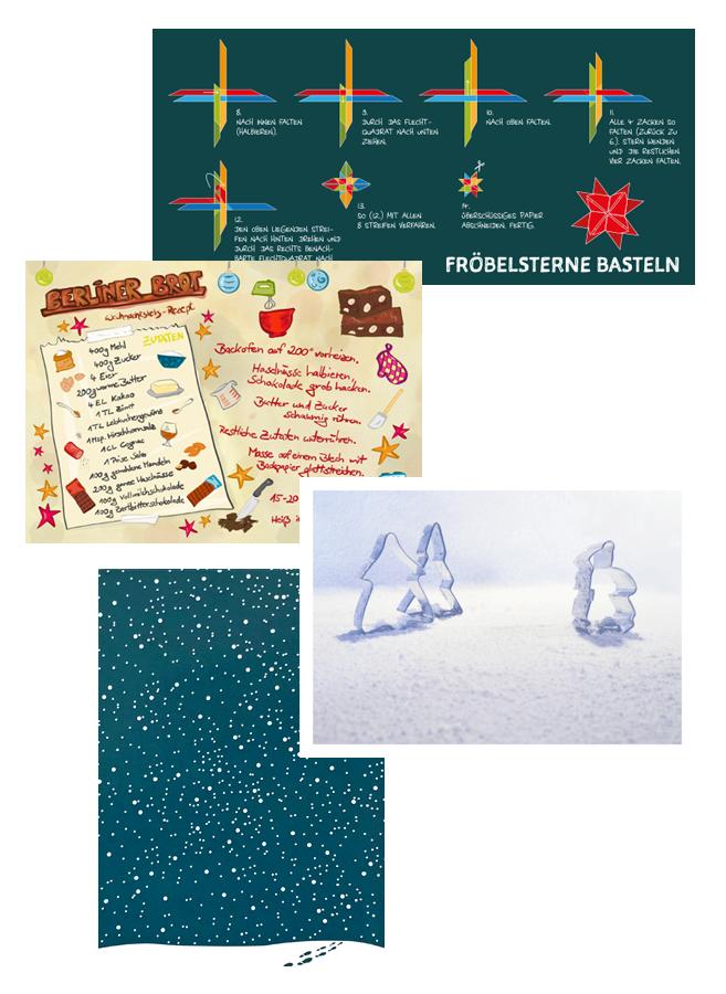 Marion Lustig: Weihnachtskarten
