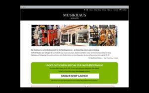 Web-Design: Online-Shop & Website (WordPress)