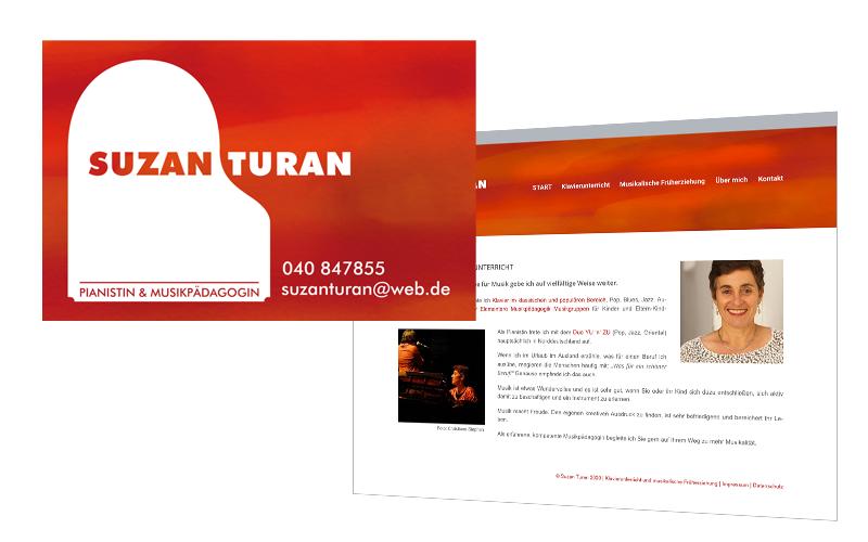 Komplettausstattung: Website, Logo und Geschäftsausstattung