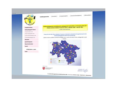 Web-Design | Projekt-Websites: Eltern-Medien-Trainer