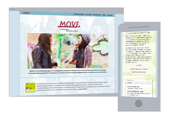 Web-Design | Projekt-Website: Move