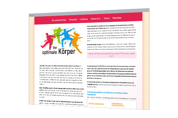 Web-Design: One-Pager