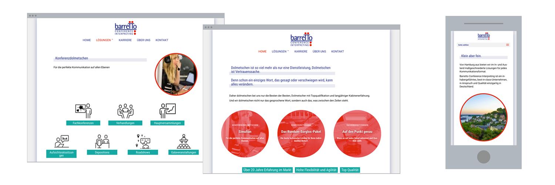 Web-Design: Online-Unternehmensdarstellung
