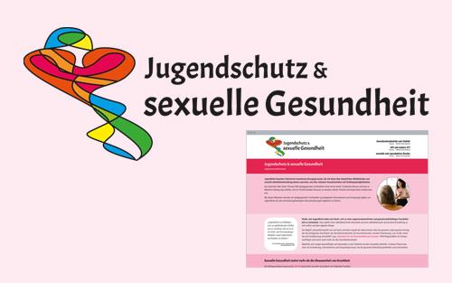 Web-Design + Logo: Jugendschutz-Projekt