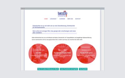 Simultandolmetscherin – Web-Design