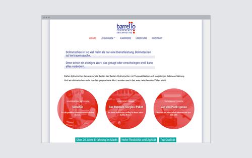 Web-Design: Simultandolmetscherin Hamburg