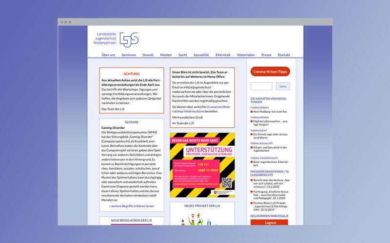 Web-Design: Jugendschutz