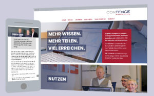 Web-Design & Fotografie: One Pager Firmendarstellung