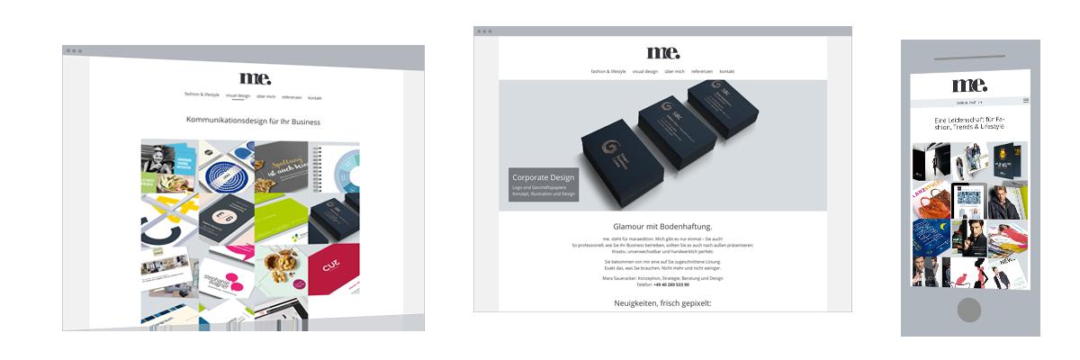 Website-Erstellung: Kommunikationsdesign